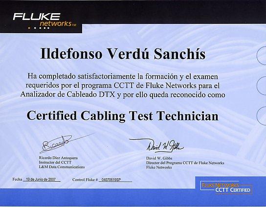 CCTT certified